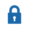 store and secure icon